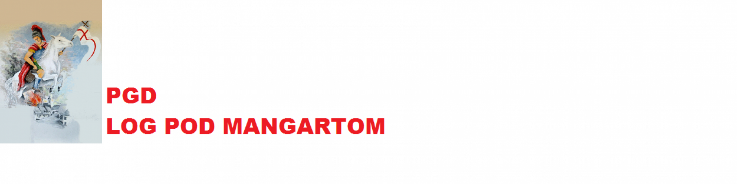 PGD Log pod Mangrtom
