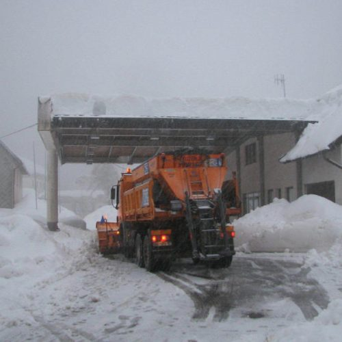 Sneg na Predelu 2014
